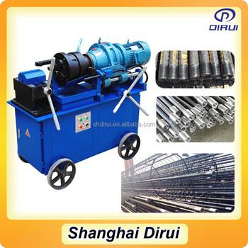 pipe threading machine rental