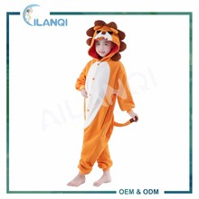 ALQ-C029 Winter cosplay costume pajamas animal onesie for kids