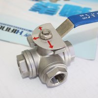 Stainless Steel 3 Way Ball Valves