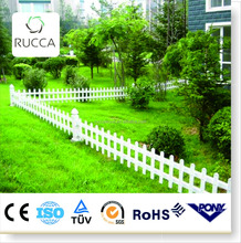 WPC Eco-Friendly Outdoor Decorative Garden Fence ,Wood Plastic Composite ,Railing,Easy Assembled,Waterproof,Rot proof,1.5M/SET