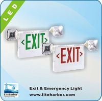 CE,UL Listed Led or Incandescent Emergency Light ceiling mounted emergency exit sign