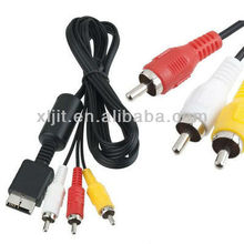 6ft Audio Video AV Cable to RCA for PlayStation PS / PS2 / PS3