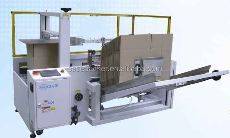 Hot sale high speed case erecting machine Factory make Automatic carton erector
