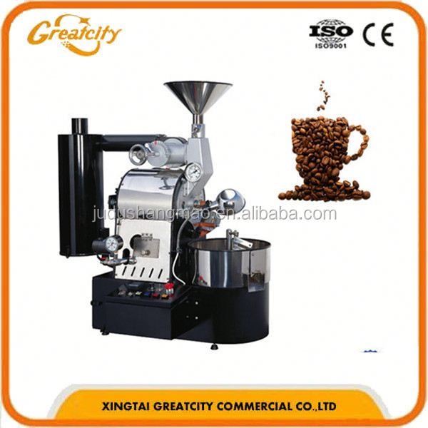 industrial electric coffee bean grinder machine coffee roaster/ industrial coffee grinder machine from Yinhao Brand