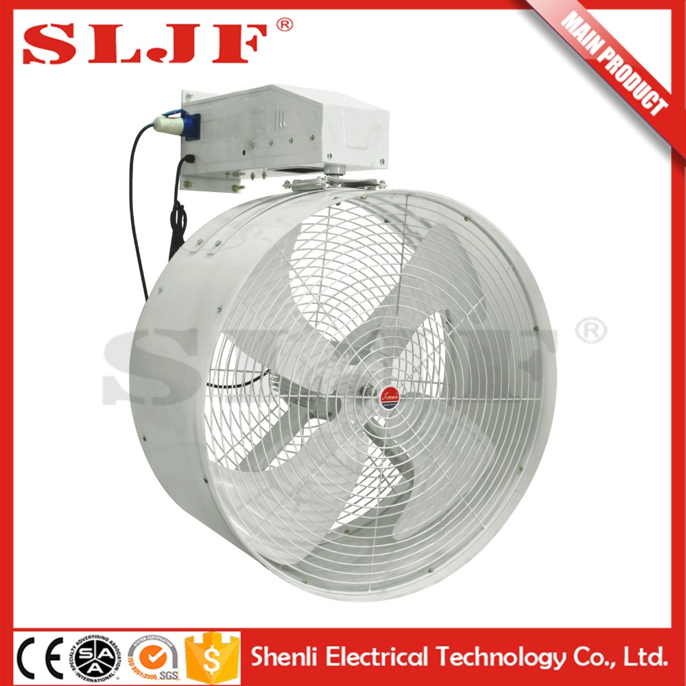 high speed wall mount oscillating 18'' orient industrial fan
