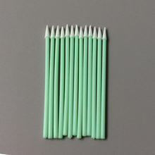 Soft Supplier Selling Precision Instrument Cleaning Small Spear Tip Foam Swabs