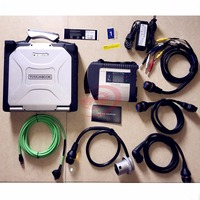 Top Quality MB Star C4 with Laptop cf-30 mb star c4 sd connect Cars&Trucks Diagnostic Tool with Xentry Software