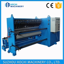 5.5KW Promotion Durable abrasive paper rewinding slitting Machine