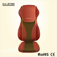 Hot Selling 4D Shiatsu and Tapping Full Back Massage Cushion with Heat