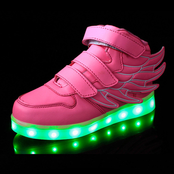 led shoes, led light running shoes, simulation led shoes kids