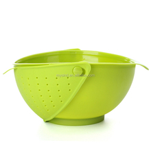 Multi-functional Rinse Bowl and Colander