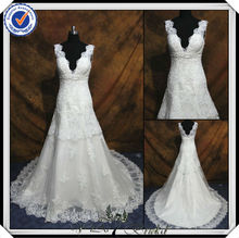 JJ2911 Beaded Mermaid Lace Winter designer pregnant women wedding dress