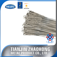 galvanized or annealed single loop bale ties
