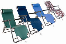 folding lounge chair with steel tube