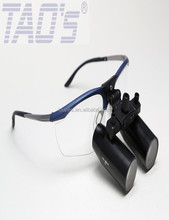 TAO'S NS 5.0X Prismatic Dental Surgical Loupes flip up magnifiers