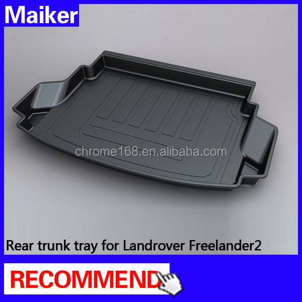car trunk mat for Landrover Freelander2 2012+3d rubber car mat auto parts