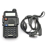 Baofeng UV-5R Dual Band Vhf+Uhf 136-174/400-520MHz Two Way Radio+Battery+Antenna+Charger+Earpiece