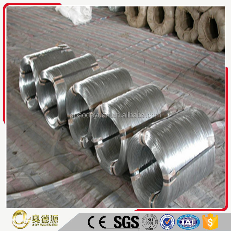 Increasingly export ISO quality assure factory price hot dipped galvanized gi wire