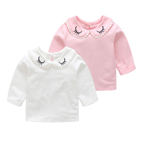 Summer the round collar furcal baby t-shirt funny shirts wholesale baby t-shirts