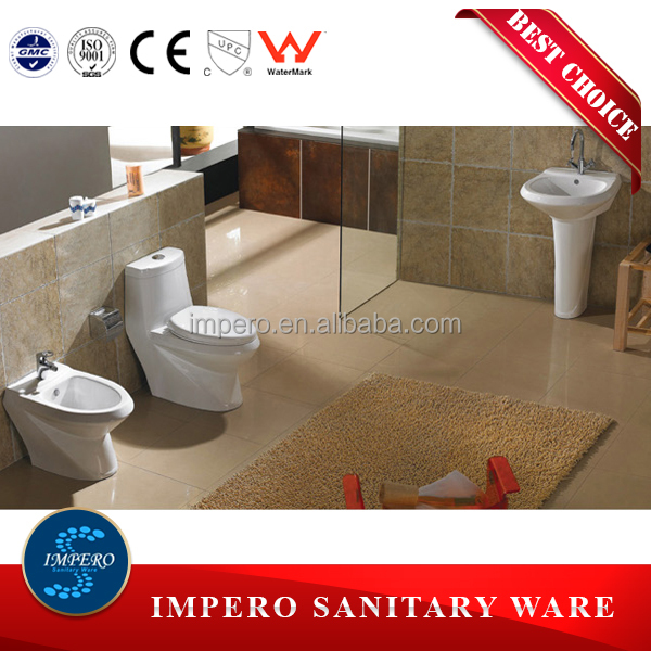 bathroom washdown wc toilet _funiture set one piece toilet_Automatic Water Closet Manufacturer