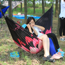 2018 Hotsale Portable Outdoor Indoor Lexisure Nylon Hammock stable suppliers