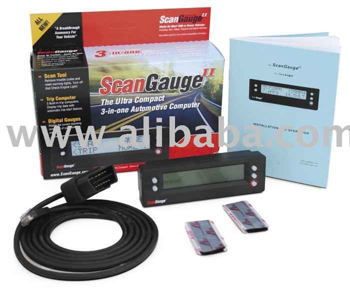 The New HHO Scangauge II Scan Tool for Hydrogen Generator/HHO Good for any vehicle