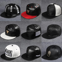 Blank Custom Flat Brim 5 Panel Hats Wholesale Baseball Cap for men and Women