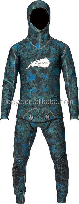 spearfishing wetsuit ,camouflage wetsuit for spearfishing WS-100