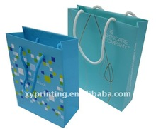 Promotional activity for twisted paper bag with cheap price for gift and shopping use