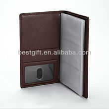 Brown Vertical Business Card Holder