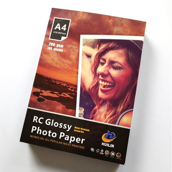 "260 gsm high glossy RC photo paper A4, A3, 4R, 4X6, 4""X6"""