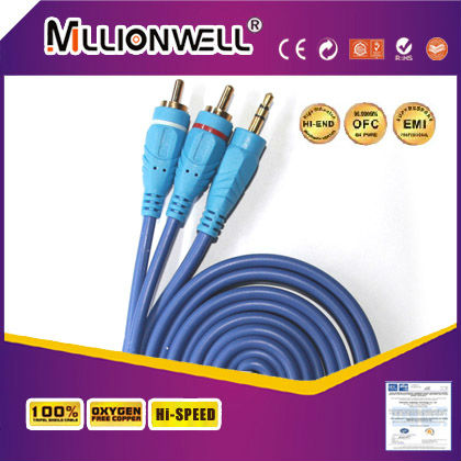 3.5mm AUX to RCA STEREO CABLE