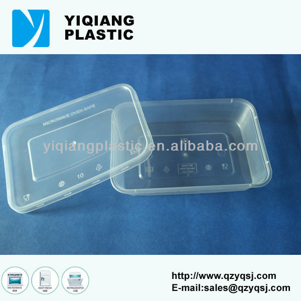Disposable deli pp food container