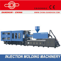 Full Automatic High presion SHE800TON Injection Moulding Machinery