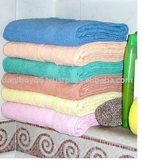 Pakistan Cantex Reactive Dyed Cotton Beach Towel Stock