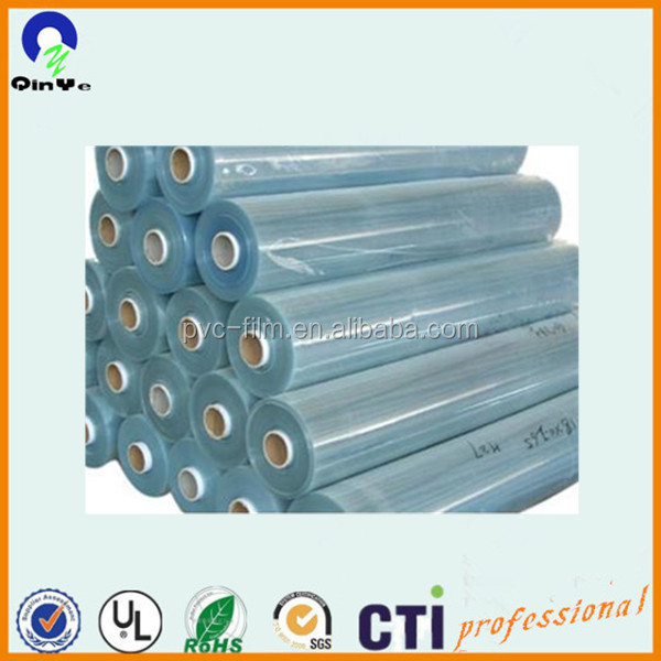 PVC Cling Protective Film Flexible PVC Soft Film