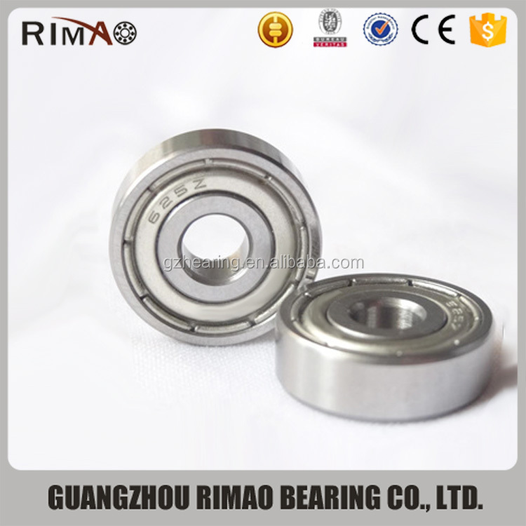 miniature toys bearing 625zz 625rs carbon, chrome steel deep groove ball bearing