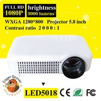Home theater optical input trade assurance supply frosted lens industrial led projector
