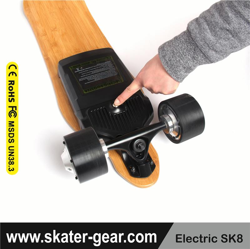 SKATERGEAR remote control electric longboard 12s electric skateboard esc diy electric skateboard hub motor kit motor