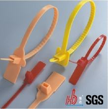 UL Approved, Nylon-66 Brand Plate Type Cable Ties, HDS-4*150