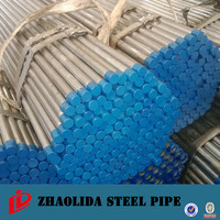 "schedule 40 erw pipe ! galvanized pipe for waste water carbon 8"" threaded steel pipe caps"