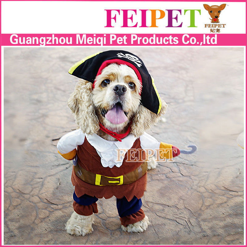 Latest design S, M, L pirate cosplay costume dog