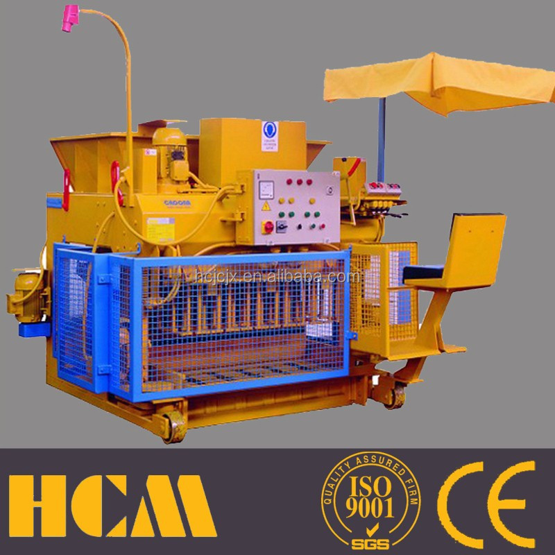 small industrial project QMY6-25 small scale concrete block making machine