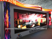 eye-catching indoor RGB led stage screen panel/p6 advertising led display board background for concerts