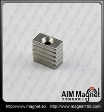 Door lock magnet 20 x 20 x 10mm N35 super strong rare earth magnets hot sale