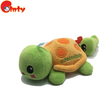 New popular funny turtle baby toys baby rattle toys with musical song