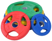 Color grip Barbell weight plate for Crossfit
