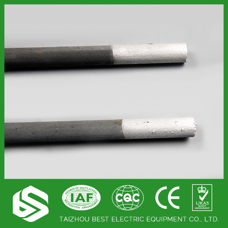 Factory supply electric sic silicon carbide heater rod