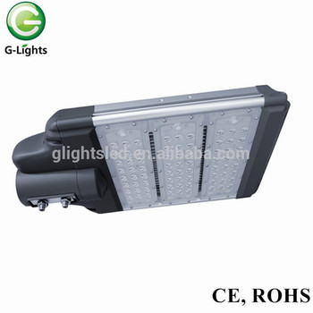 High power ce approval IP67 led outdoor waterproof ip65 bridgelux 72w newest design led street lighting with meanwell driver