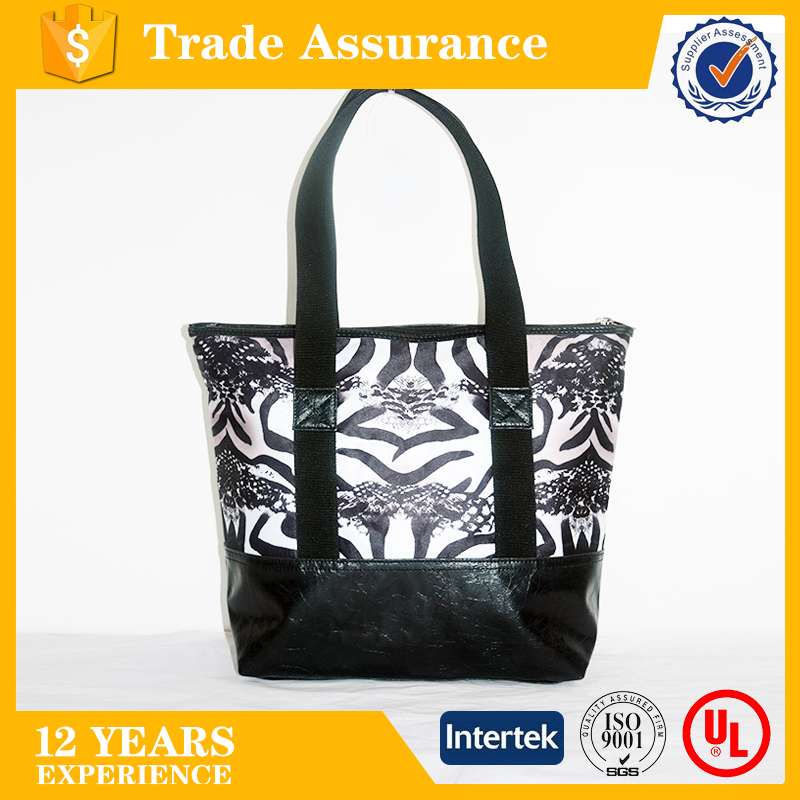 China Supplier Wholesale Eco Friendly Durable Polyester Promotional Shopping Tote Bag
